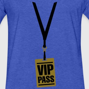 VIP pass Sweatshirts - Fitted Cotton/Poly T-Shirt by Next Level