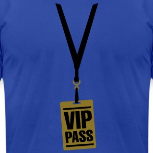 VIP pass Hoodies - Men's T-Shirt by American Apparel
