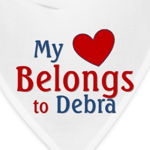 Heart belongs to Debra - Bandana