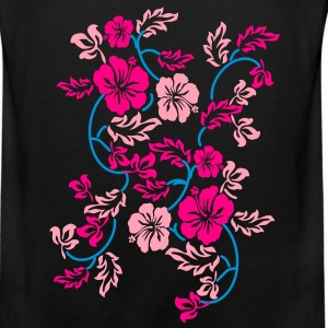 hawaii flower Bags  - Men's Premium Tank