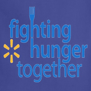 Fighting hunger hoodie. - Adjustable Apron