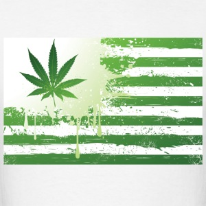 Weed Flag Hoodies - Men's T-Shirt