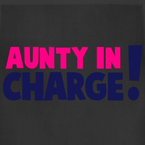 AUNTY IN CHARGE! Women's T-Shirts - Adjustable Apron