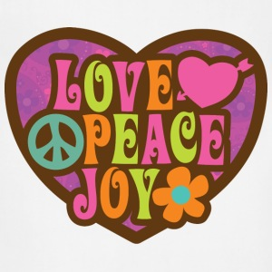 Love Peace Joy - Adjustable Apron