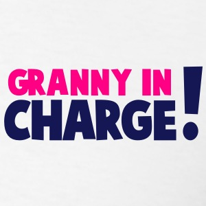 GRANNY IN CHARGE! Polo Shirts - Men's T-Shirt