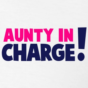 AUNTY IN CHARGE! Polo Shirts - Men's T-Shirt