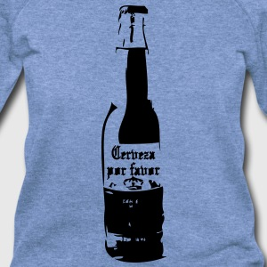 Cerveza por favor T-Shirts - Women's Wideneck Sweatshirt