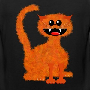 MARMALADE CAT Women's T-Shirts - Men's Premium Tank