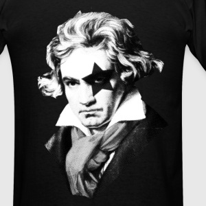 Beethoven rock Kiss Black Metal Hoodies - Men's T-Shirt