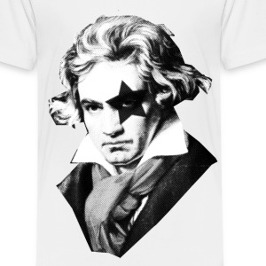 Beethoven rock Kiss Black Metal Kids' Shirts - Toddler Premium T-Shirt
