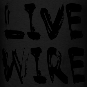 Live Wire Bags  - Men's T-Shirt