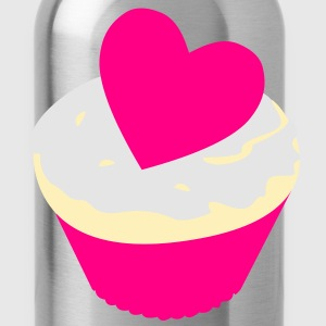 heart cupcake Tanks - Water Bottle