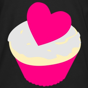 heart cupcake Bags  - Men's Premium Long Sleeve T-Shirt