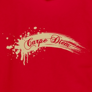 Carpe Diem T-shirt - Unisex Fleece Zip Hoodie by American Apparel