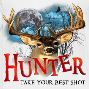 Hunter take your best shot Deer edited Kids' Shirts - Toddler Premium T-Shirt