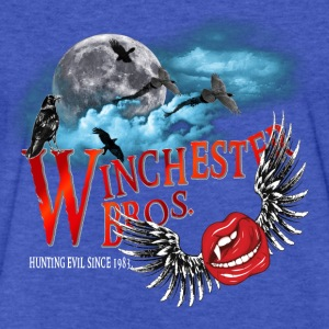 Winchester Bros Hunting Evil Since 1983 Vamps Kiss Sweatshirts - Fitted Cotton/Poly T-Shirt by Next Level
