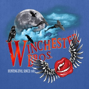 Winchester Bros Hunting Evil Since 1983 Vamps Kiss Sweatshirts - Tote Bag