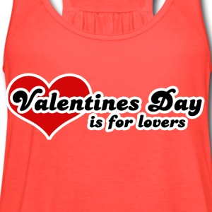Valentines day - Women's Flowy Tank Top by Bella