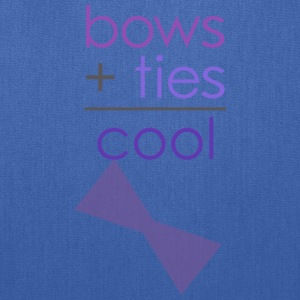 bows ties are cool Women's T-Shirts - Tote Bag