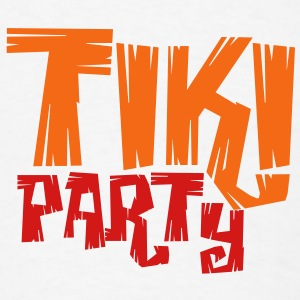 TIKI PARTY Buttons - Men's T-Shirt