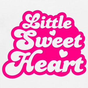 little sweet heart baby love hearts cute! Buttons - Men's Premium T-Shirt