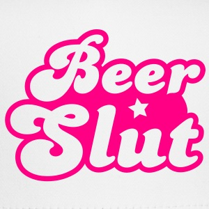 beer slut with a star Buttons - Trucker Cap