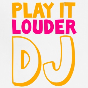 PLAY IT LOUDER DJ deejay Buttons - Adjustable Apron