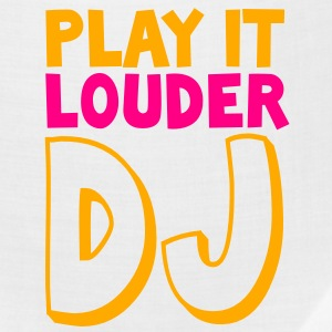 PLAY IT LOUDER DJ deejay Buttons - Bandana