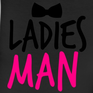 LADIES MAN with a black bow tie event Buttons - Leggings
