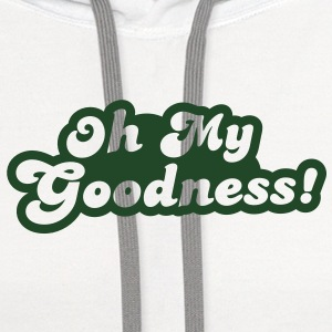 oh my goodness! Buttons - Contrast Hoodie