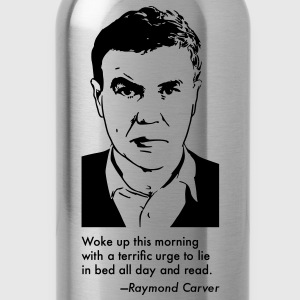 Raymond Carver Portrait & Quotation (Women's T-Shirt) - Water Bottle