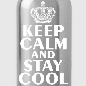Keep Calm & Stay Cool T-Shirt - Water Bottle