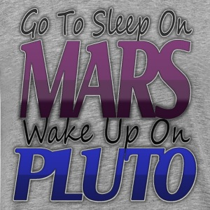 PLUTO Long Sleeve Shirts - Men's Premium T-Shirt