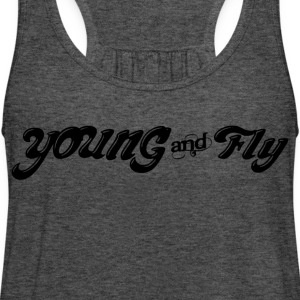 Young & Fly T-Shirts - Women's Flowy Tank Top by Bella