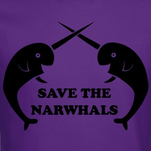 Save the Narwhals Women's T-Shirts - Crewneck Sweatshirt