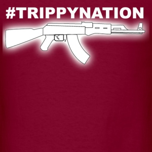 #TrippyNation AK47 Juicy J  Hoodies - Men's T-Shirt
