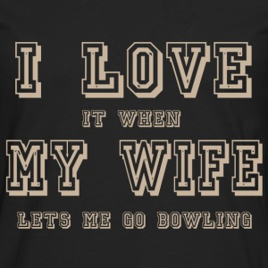 i love my wife - Men's Premium Long Sleeve T-Shirt