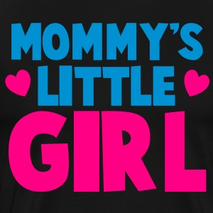MOMMY's LITTLE GIRL Long Sleeve Shirts - Men's Premium T-Shirt