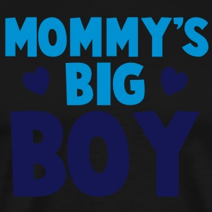MOMMY's BIG boy blue Long Sleeve Shirts - Men's Premium T-Shirt