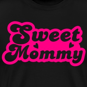 sweet mommy with little love hearts cute! Long Sleeve Shirts - Men's Premium T-Shirt