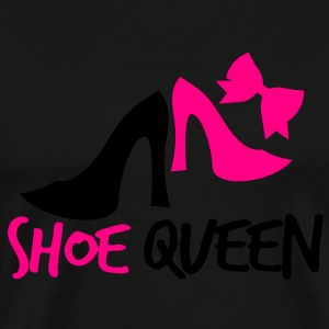 shoe queen shoes with bow Long Sleeve Shirts - Men's Premium T-Shirt