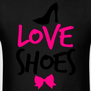 LOVE SHOES! with shoe bow and  Long Sleeve Shirts - Men's T-Shirt