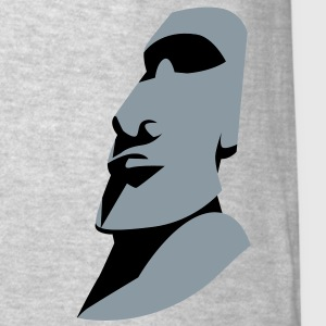 EASTER ISLAND STATUE ROCK alone Long Sleeve Shirts - Men's T-Shirt