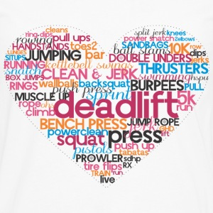 love to train - Men's Premium Long Sleeve T-Shirt