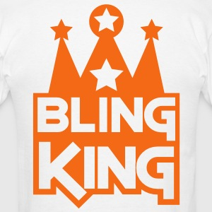BLING KING with crown and stars Hoodies - Men's T-Shirt