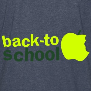 BACK TO SCHOOL with green apple Hoodies - Vintage Sport T-Shirt