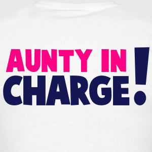 AUNTY IN CHARGE! Hoodies - Men's T-Shirt