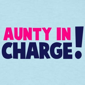 AUNTY IN CHARGE! Baby Bodysuits - Men's T-Shirt
