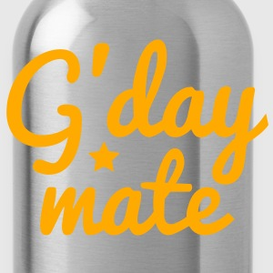 g'day mate (hello chap) Sweatshirts - Water Bottle