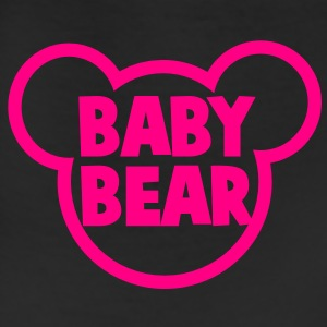 BABY BEAR in a teddy shape super cute! T-Shirts - Leggings
